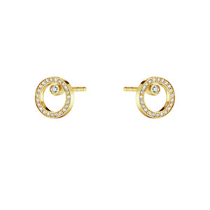 Georg Jensen Earrings  HaloHalo Earstud