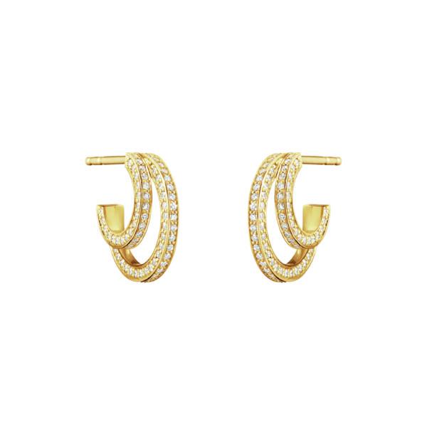 Georg Jensen Earrings Hoops  HaloHalo Earhoop - 13,5 mm