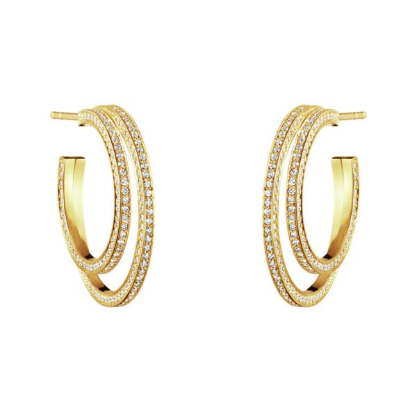 Georg Jensen Earrings Hoops  HaloHalo Earhoops - 23 mm