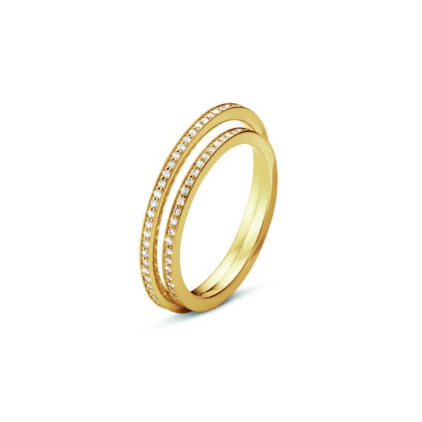 Georg Jensen Rings  HaloHalo Ring