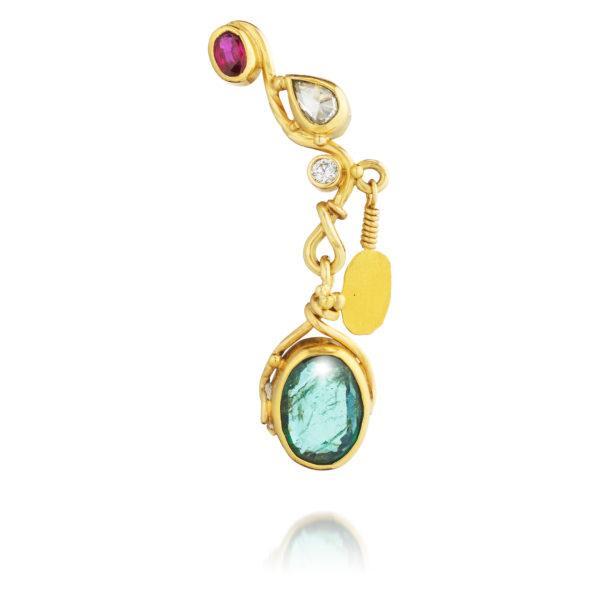 Bergsoe Jewellery Earrings  EarringsSeafire Earring