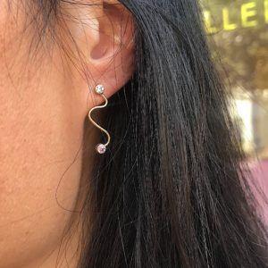 MaryLou Earrings  DoodleDoodle Earpin