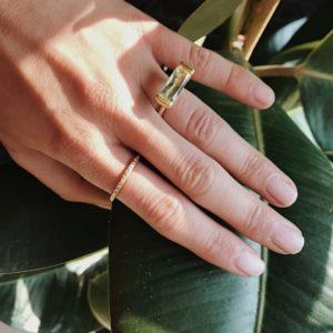 Dulong Fine Jewelry Rings  FutureFuture ring with beryl