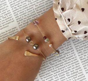 Dulong Fine Jewelry Bracelets  PiccoloPiccolo bracelet with Tahitian pearls