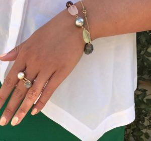 Dulong Fine Jewelry Rings  PacificSmall Pacific ring with freshwater pearl