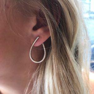 Dulong Fine Jewelry Earrings Hoops  KharismaMedium Kharisma silver earrings