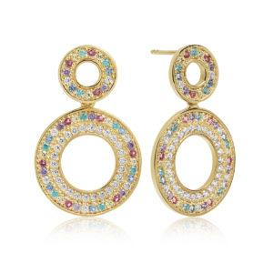 Sif Jakobs Jewellery Earrings  RainbowValiano Due Grande