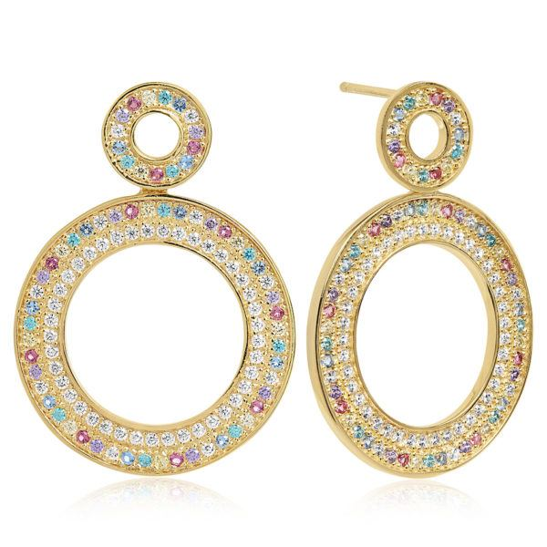 Sif Jakobs Jewellery Earrings  RainbowValiano Due Grande