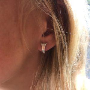 Dulong Fine Jewelry Earrings  LunaSilver Luna Loop earrings