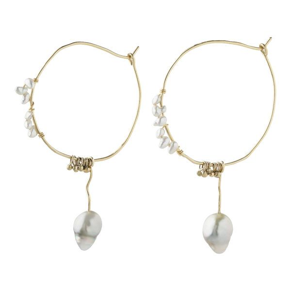 MaryLou Earrings  OceanOcean Hoops