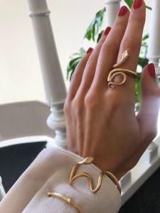 Ole Lynggaard Copenhagen Rings  SnakesMedium Snake Ring
