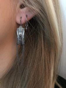 Line&Jo Earrings  NEW YORKMISS EDMEE antique