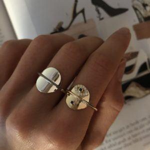 Line&Jo Rings  RAY OF EYESMISS ROSENI antique