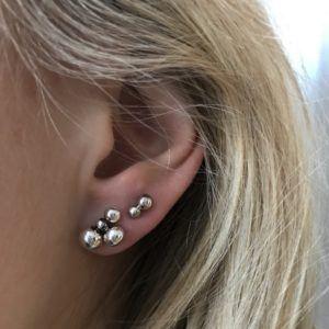 Line&Jo Earrings  RAY OF EYESMISS ETHENIA antique