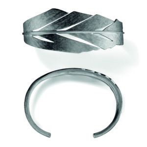 Line&Jo Bracelets  FEATHERMISS BARKS grey