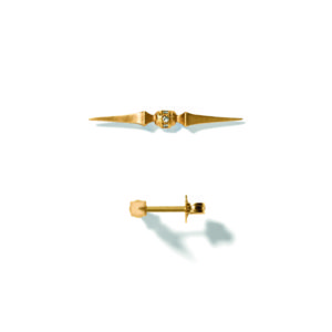 Line&Jo Earrings  SPIREMISS EDELE gold diamond