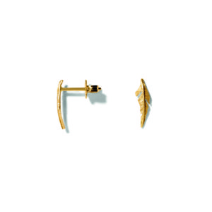 Line&Jo Earrings  FEATHERMISS EIFA gold