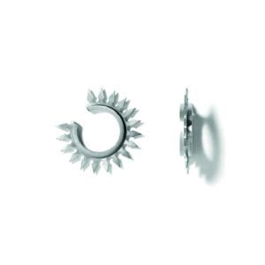 Line&Jo Earrings  SPIREMISS EIREEN grey