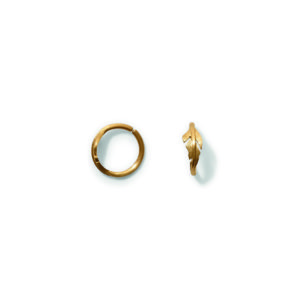 Line&Jo Earrings  FEATHERMISS ELLEGOOD ONE gold