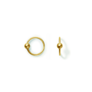 Line&Jo Earrings  FRAGMENTMISS ELLY TWO gold