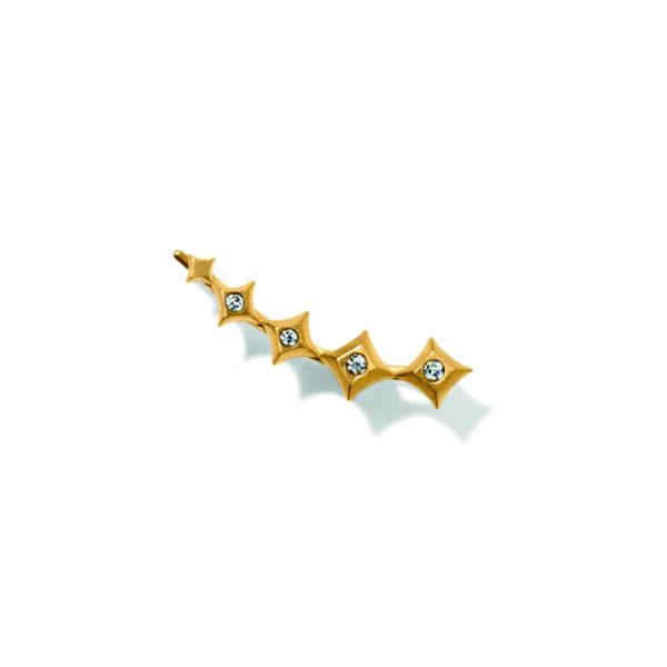 Line&Jo Earrings  SPIREMISS ETOILE ONE gold diamond