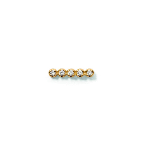 Line&Jo Earrings  TUTTI FRUTTIMISS EXPA5 gold diamond