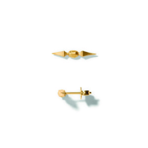 Line&Jo Earrings  SPIREMISS EYLAM gold