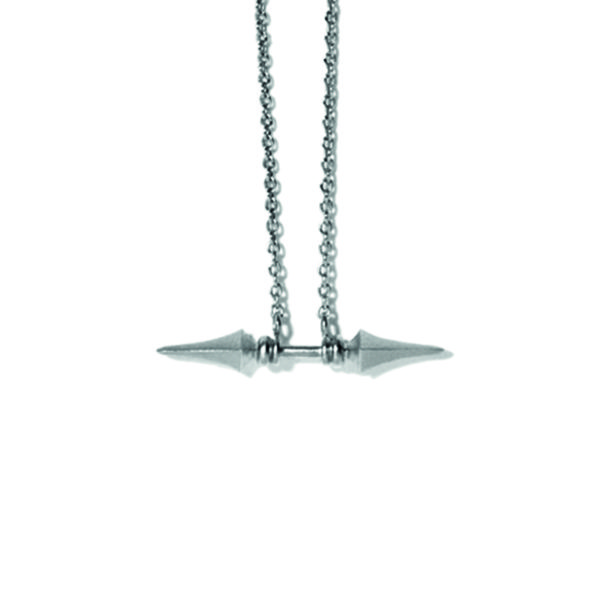Line&Jo Necklaces  SPIREMISS NAMIA grey (43 cm)