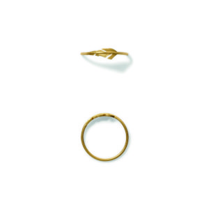Line&Jo Rings  FEATHERMISS RADNICK gold
