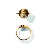 Line&Jo Rings  RAY OF EYESMISS RE gold diamond sapphire