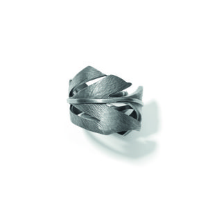 Line&Jo Rings  FEATHERMISS ROY grey