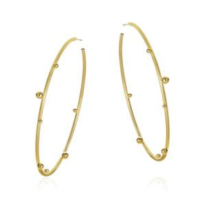 Dulong Fine Jewelry Earrings Hoops  DelphisMega Delphis Hoops