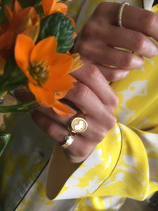 Unspoiled Jewels Rings  Singet RingsSweden 14 Karat Gold