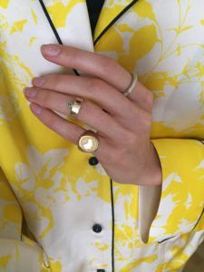 Unspoiled Jewels Rings  Singet RingsCalifornia Gold-plated Silver