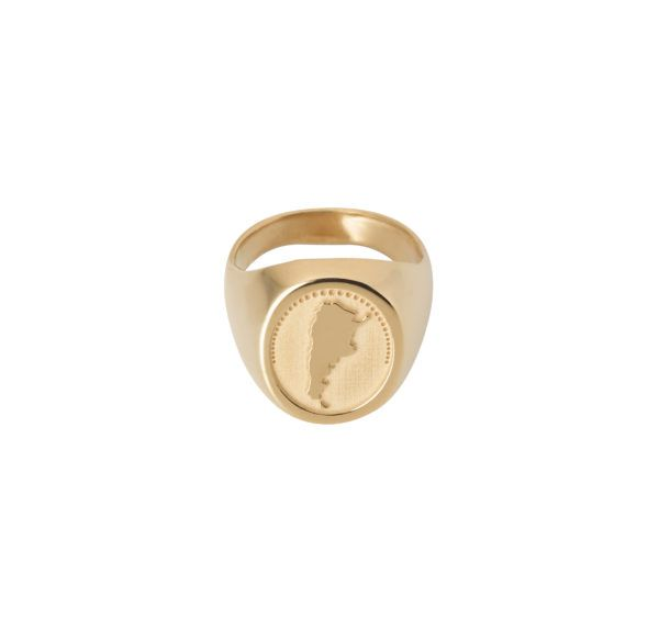 Unspoiled Jewels Rings  Singet RingsArgentina Gold-plated Silver