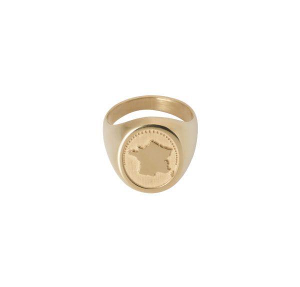 Unspoiled Jewels Rings  Singet RingsFrance 14 Karat Gold