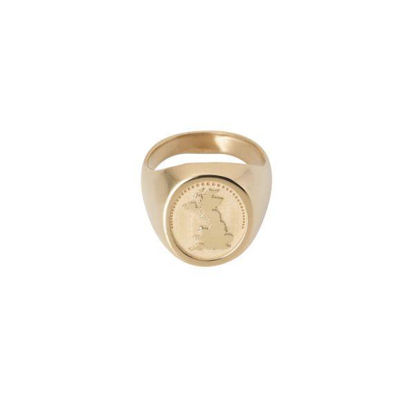Unspoiled Jewels Rings  Singet RingsGreat Britian 14 Karat Gold