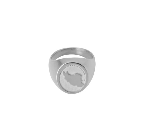 Unspoiled Jewels Rings  Singet RingsIran Silver Ring