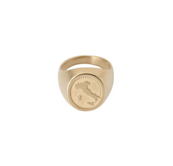 Unspoiled Jewels Rings  Singet RingsItaly 14 Karat Gold