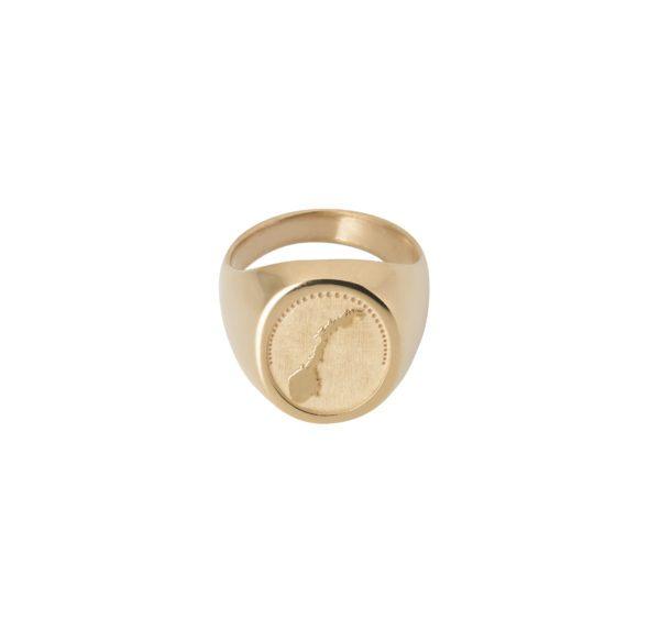 Unspoiled Jewels Rings  Singet RingsNorway 14 Karat Gold