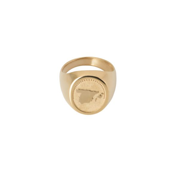 Unspoiled Jewels Rings  Singet RingsSpain Gold-plated Silver