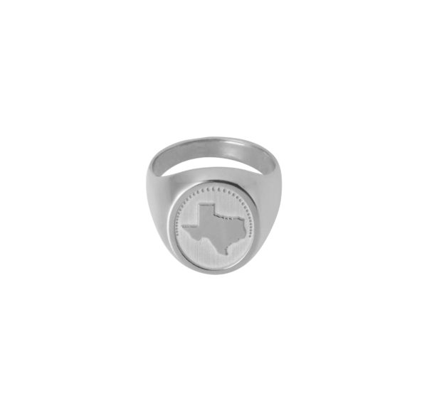 Unspoiled Jewels Rings  Singet RingsTexas Silver Ring