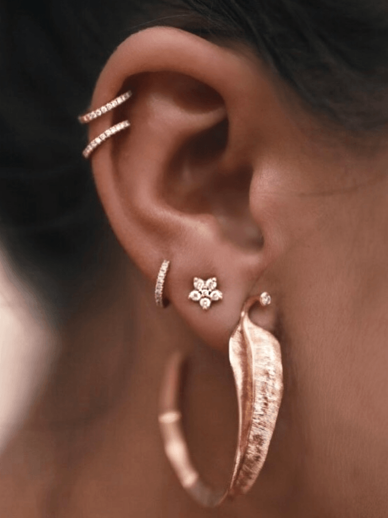 Make Sure To Check Out The Wide Range Of Fashionable And Elegant Gold Earrings Available Online At Jewellery Room