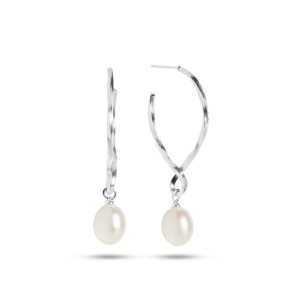 Carré Jewellery Earrings  THE TWISTPearl Earrings
