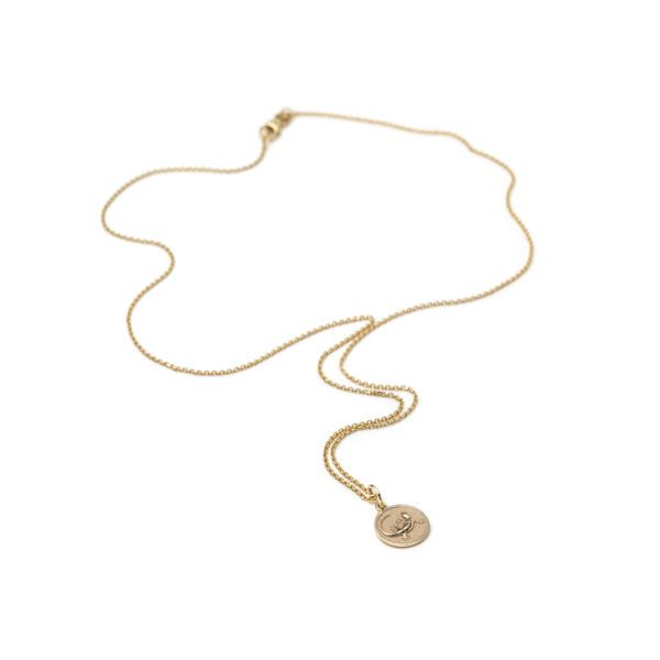 With Love Darling Necklaces  Animal TotemsLizard Medallion