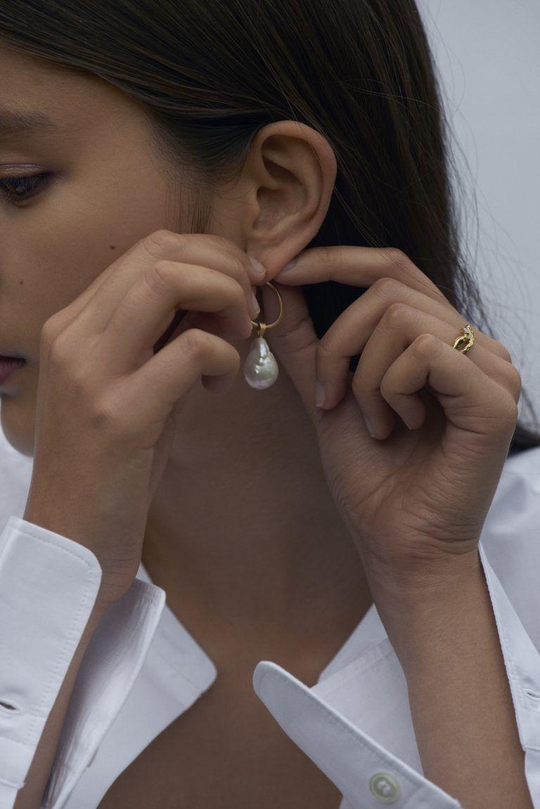 Latest Design Gold Earrings