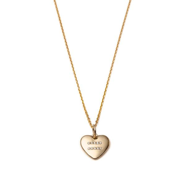 With Love Darling Necklaces  The Global GoalsGlobal Goal 5: Equality Heart