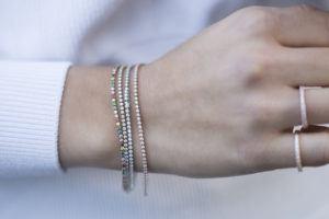 Sif Jakobs Jewellery Bracelets  ELLERABracelet with white zirconia