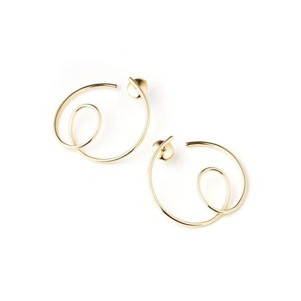 By Pariah Earrings  EarringsLe Louvre - Solid