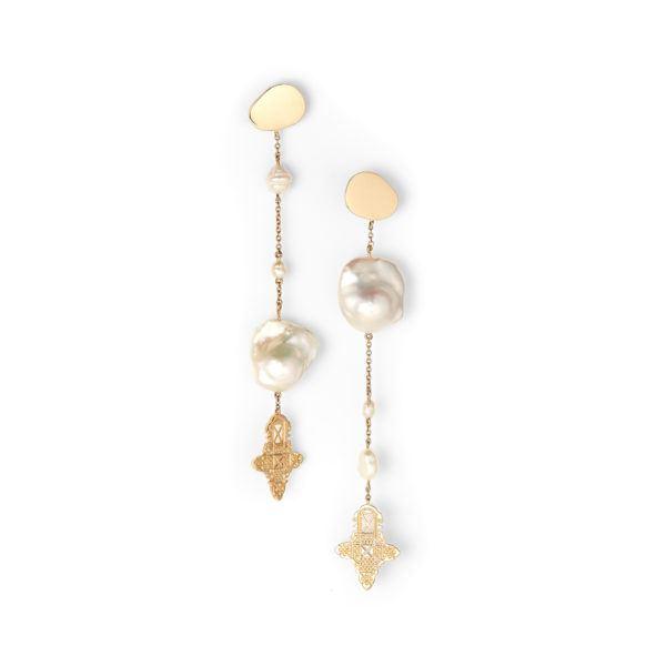 By Pariah Earrings  EarringsSidetracked with Pearl